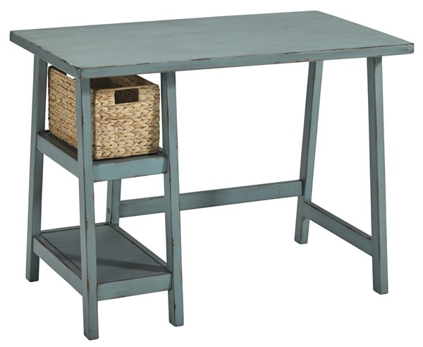 Ashley Furniture Mirimyn Teal Office Small Desk H505-710
