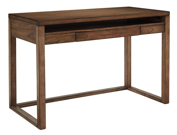 Baybrin Contemporary Rustic Brown Home Office Small Desk H587-10
