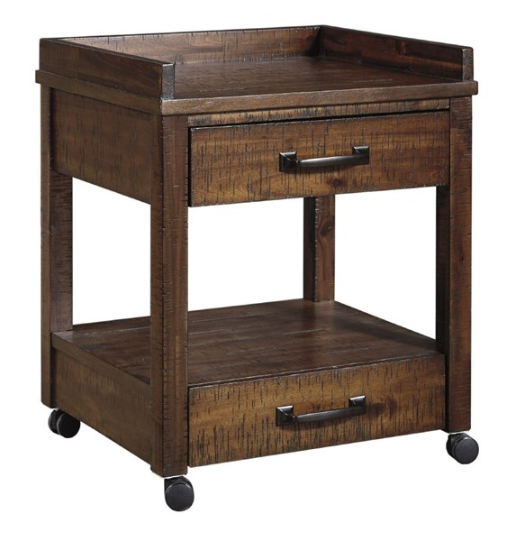 Ashley Furniture Baldridge Brown Printer Stand H675-11