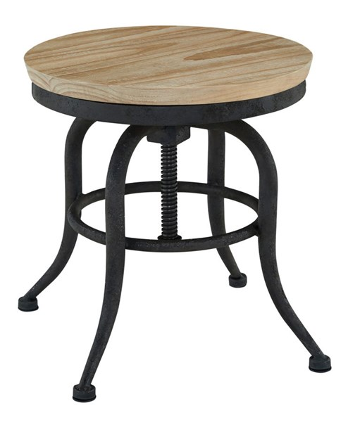Shennifin Vintage Casual Light Brown Stool (1/CN) H862-01