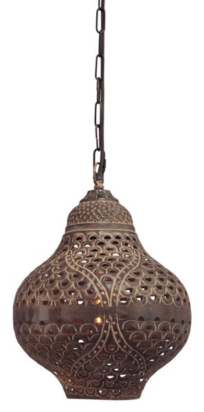 Ashley Furniture Jonelle Antique Brown Pendant Light L000628