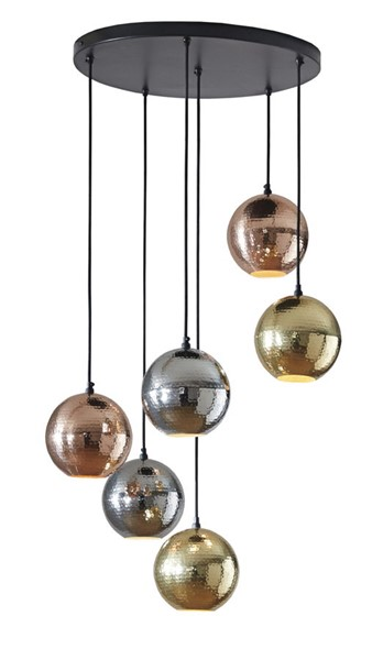 Ashley Furniture Adiana Contemporary  Metal Pendant Light L000909