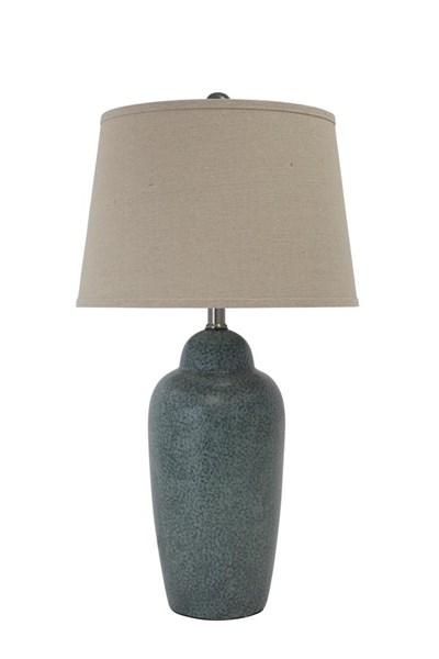 Ashley Furniture Saher Green Table Lamp L100254