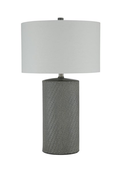 Shelleny Vintage Casual Gray Green Ceramic Table Lamp (1/CN) L100344