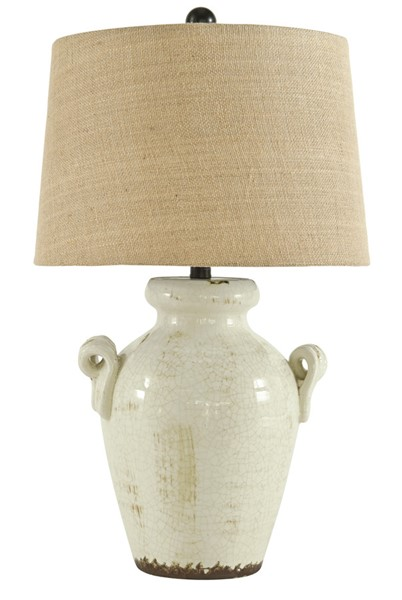 Ashley Furniture Emelda Ceramic Table Lamp L100664