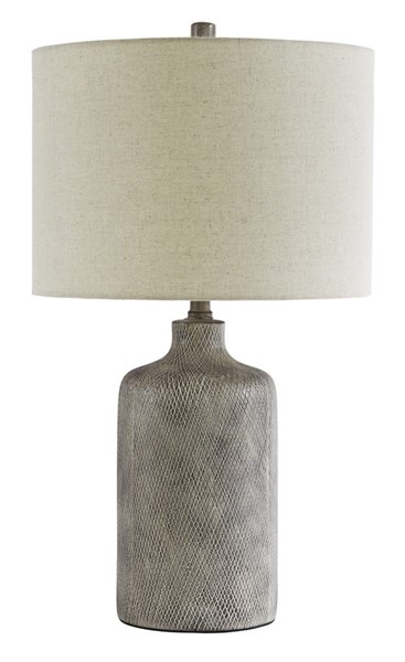 Ashley Furniture Linus Black Ceramic Table Lamp L117964