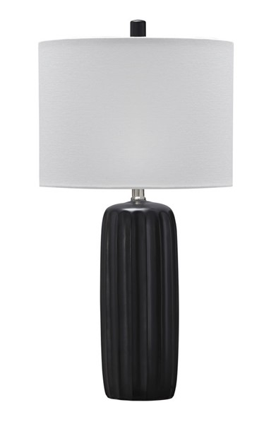 2 Ashley Furniture Adorlee Black Ceramic Table Lamps L177934