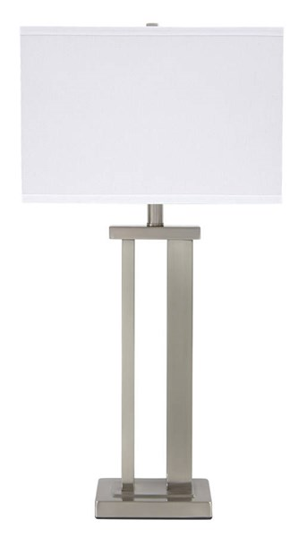 2 Ashley Furniture Aniela Metal Table Lamps L204054