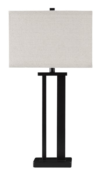2 Ashley Furniture Aniela Bronze Table Lamps L204074