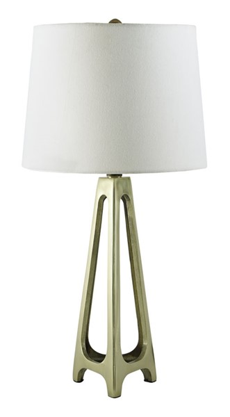 2 Ashley Furniture Howard Gold Table Lamps L207274