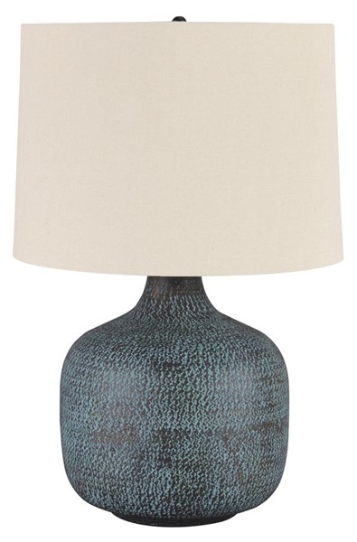 Ashley Furniture Malthace Patina Metal Table Lamp L207304