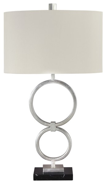2 Ashley Furniture Mansoor Metal Table Lamps L207324