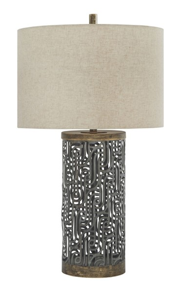 Ashley Furniture Dayo Ray Gold Table Lamp L207364