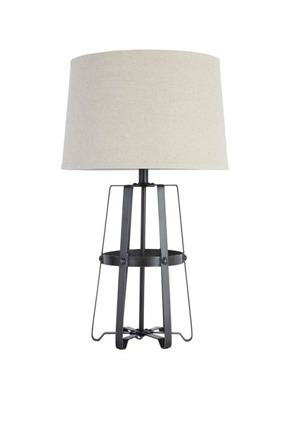 Samiya Vintage Casual Antique Black Metal Table Lamp (1/CN) L207804