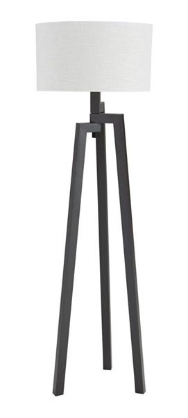 Selbea Contemporary Dark Bronze Finish Metal Floor Lamp (1/CN) L207951