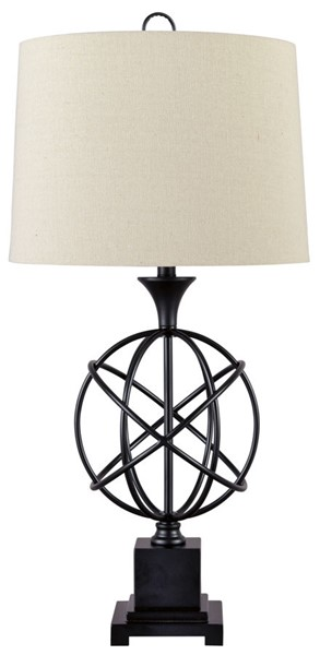 Ashley Furniture Camren Black Metal Table Lamp L208134