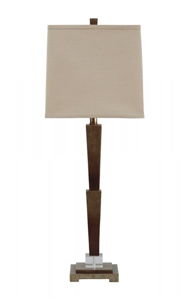 Malachy Contemporary Gold Finish Poly Table Lamp (1/CN) L235004