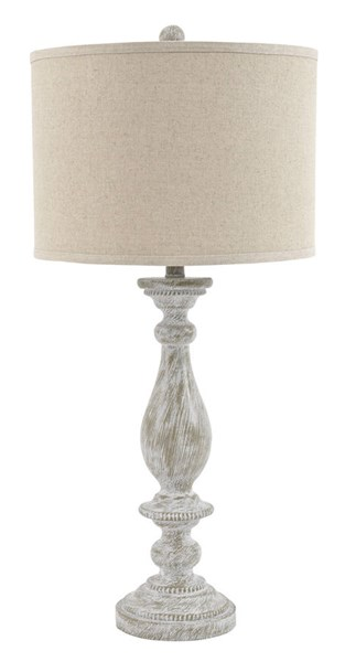 2 Ashley Furniture Bernadate Poly Table Lamps L235344