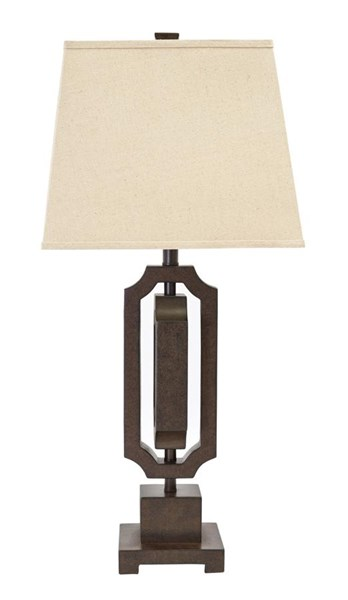 Scottey Traditional Classics Brown Poly Table Lamp (1/CN) L235454