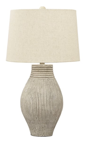 Ashley Furniture Layal Beige Paper Table Lamp L235634
