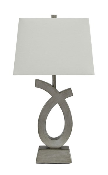 2 Ashley Furniture Amayeta Poly Table Lamps L243134