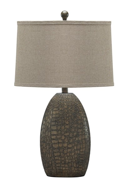 Ashley Furniture Melvin Tan Poly Table Lamp L243184