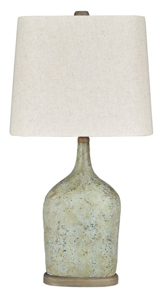 2 Ashley Furniture Maribeth Sage Paper Table Lamps L243244