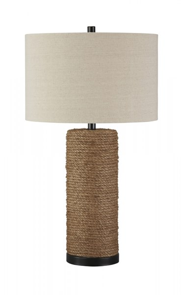 Talbbart Vintage Casual Brown Rope Table Lamp (1/CN) L327164