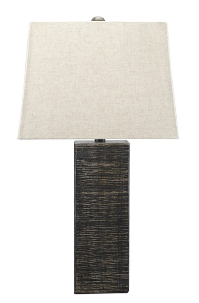Ashley Furniture Mahak Black Wood Table Lamps L327214