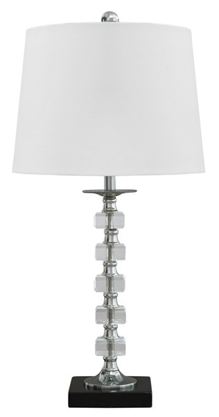 Ashley Furniture Leesa Clear Crystal Table Lamp L428094