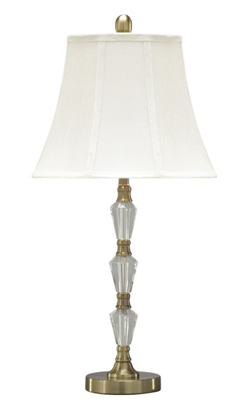 Ashley Furniture Madra Clear Gold Crystal Table Lamp L428104