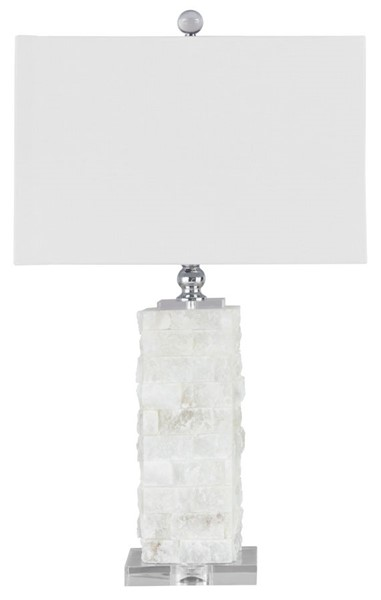Ashley Furniture Malise White Alabaster Table Lamp L429014