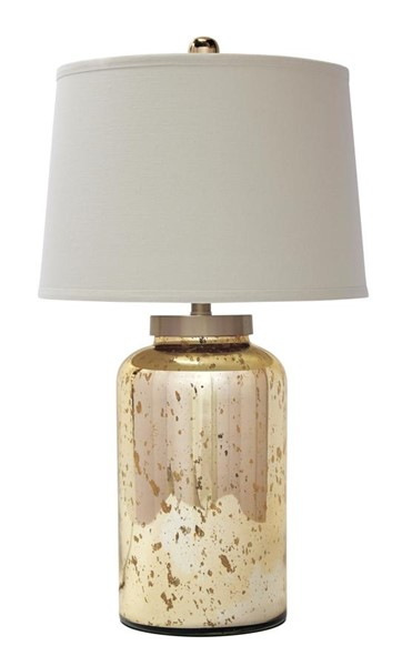 Shannin Vintage Casual Gold Finish Glass Table Lamp (1/CN) L430054