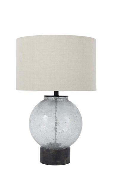 Shauni Contemporary Transparent Glass Table Lamp (1/CN) L430224
