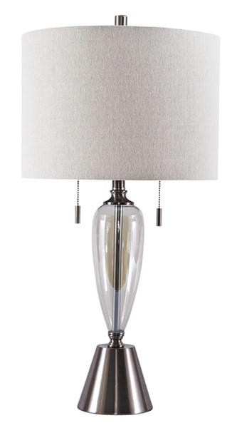 Ashley Furniture Maizah Champagne Glass Table Lamp L430574