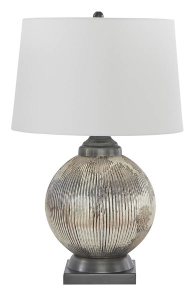 Ashley Furniture Cailan Silver Bronze Table Lamp L430614