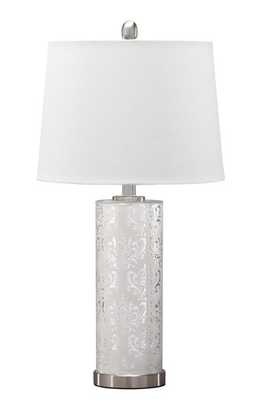 Ashley Furniture Nichole Silver Table Lamps L431394