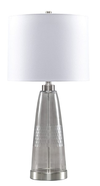 Ashley Furniture Larrance Gray Table Lamp L431404