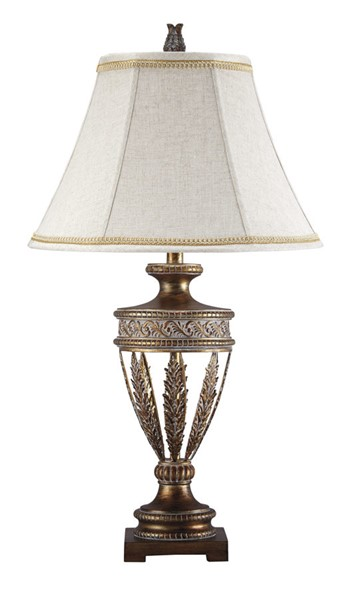 Ashley Furniture Lavern Gold Poly Table Lamps L512014