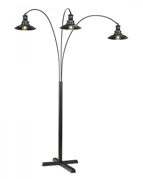 Arc Lamp Vintage Casual Black Metal Metal Arc Lamp (1/CN) L725059