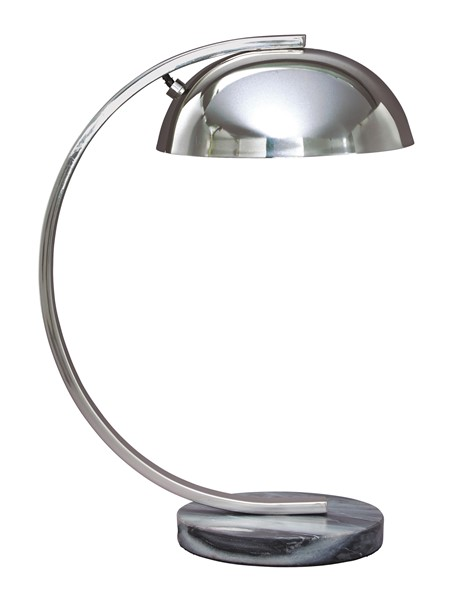 Ashley Furniture Haden Chrome Metal Desk Lamp L734302