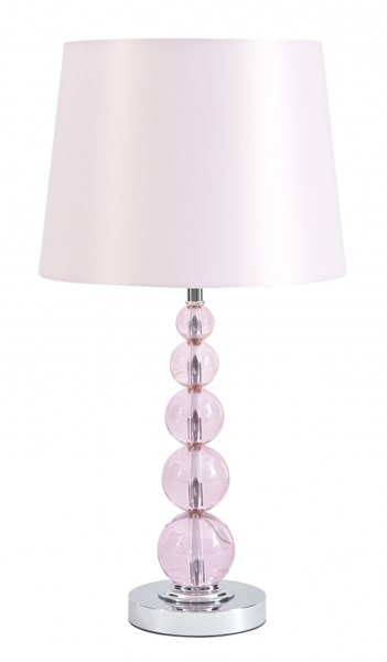 Ashley Furniture Letty Pink Crystal Table Lamp L857664