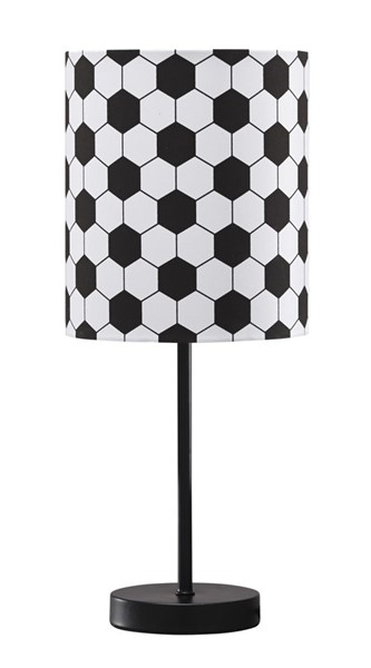 Ashley Furniture Lamar Black White Metal Table Lamp L857704