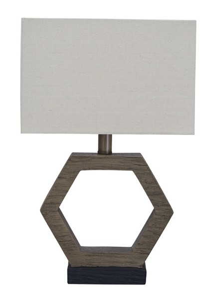 Ashley Furniture Marilu Gray Brown Poly Table Lamp L857764