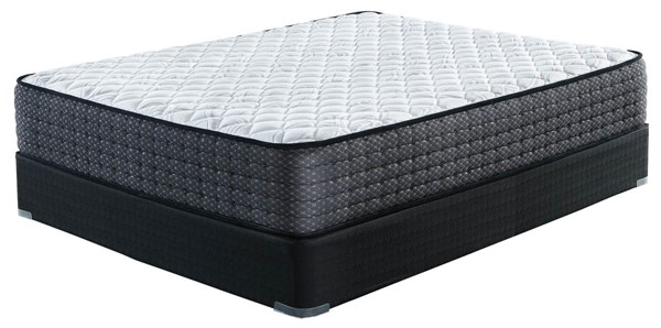 Ashley Furniture Limited Edition Firm White Black Mattresses With Foundations M62511-M80X12-MT-FD-VAR