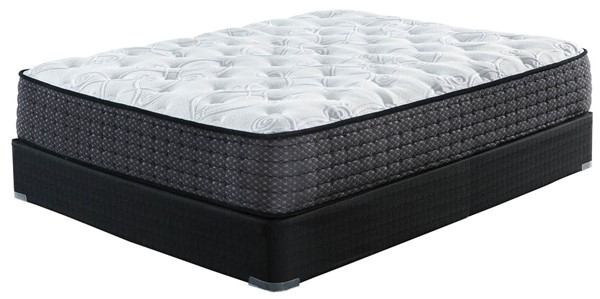Ashley Furniture Limited Edition Plush White Black Mattresses With Foundations M62631-M80X32-MTT-FD-VAR