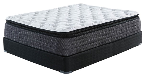 Ashley Furniture Limited Edition Pillowtop White Black Mattresses With Foundations M62731-M80X32-MTT-FD-VAR