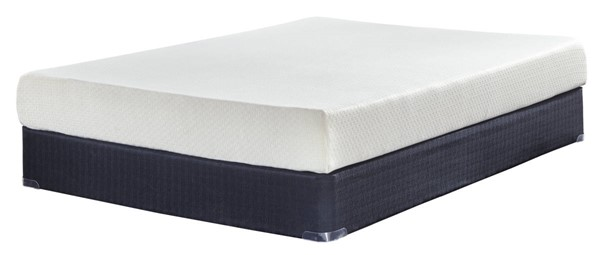 Ashley Furniture Chime 8 Inch Foam Mattresses with Foundation M726-M80X-MATT-FND-VAR