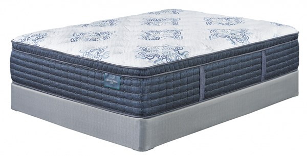 Mt. Dana Euro Top Traditional White King Mattress M78941
