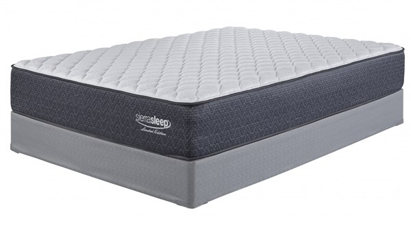 Limited Edition Firm Traditional White Fabric King Mattress M79741